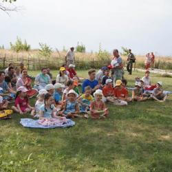 Enfants en méditation