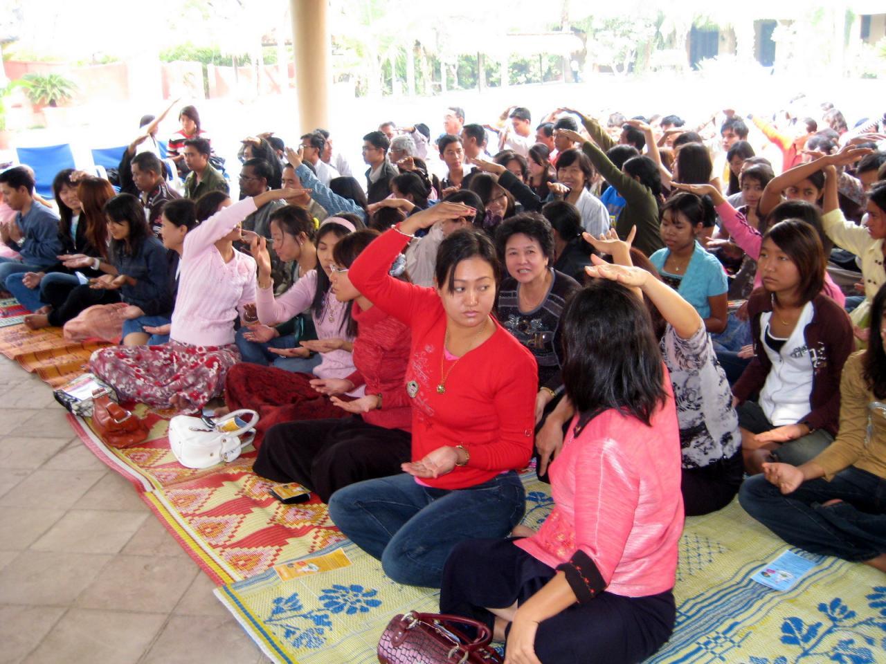 Programme Sahaja Yoga au Myanmar