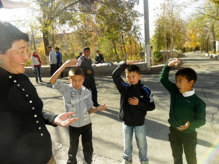 Sahaja Yoga au Kirgyzistan