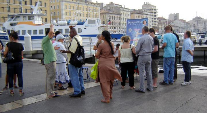 L'expérience sur le Vieux Port à Marseille